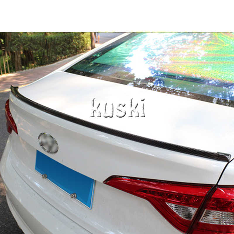 Aileron arrière en Fiber de carbone pour Renault Duster Laguna Megane 2 3 Logan Captur Clio Fiat 500 accessoires Punto Stilo Bravo