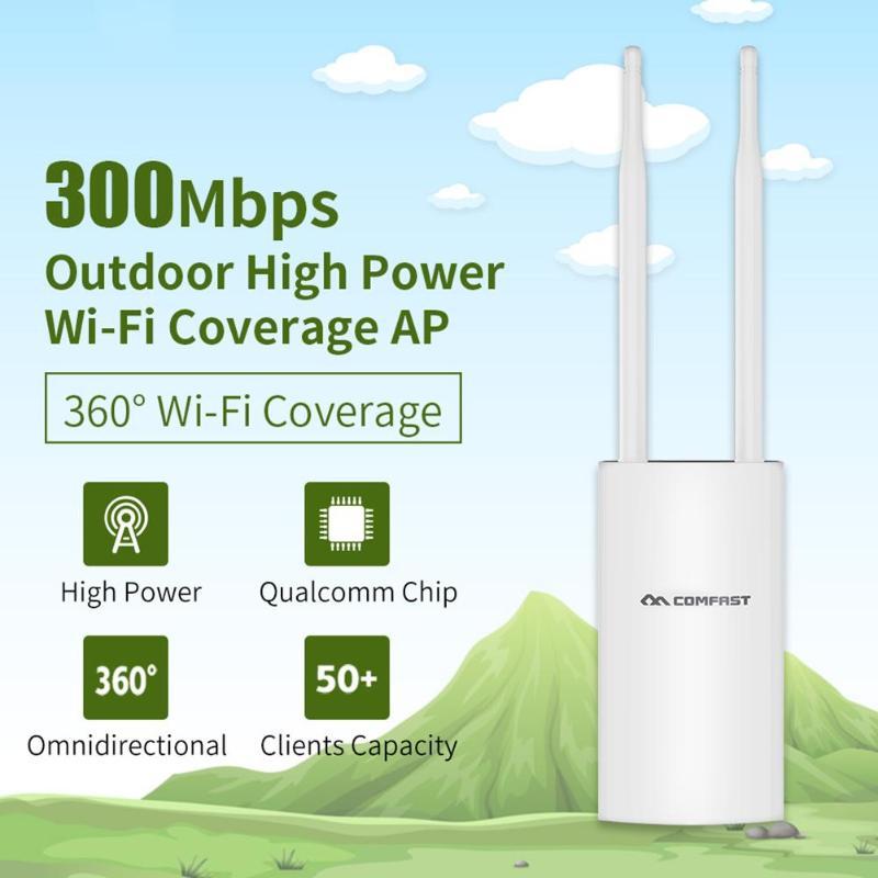 CF-EW71 Haute Puissance Extérieure Wifi AP Wifi Répéteur 2.4g 300 Mbps Sans Fil Wifi Routeur Double antennes point d'accès Wifi extender