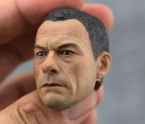 1:6 Custom 1/6 Scale Jean-Claude Van Damme Head Sculpt For Hot Toys Body1:6 Custom 1/6 Scale Jean-Claude Van Damme Head Sculpt For Hot Toys Body