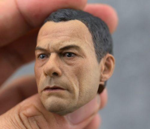 Personnalisé 1:6 1/6 Échelle Jean-Claude Van Damme Chef Sculpt Pour Hot Toys Corps