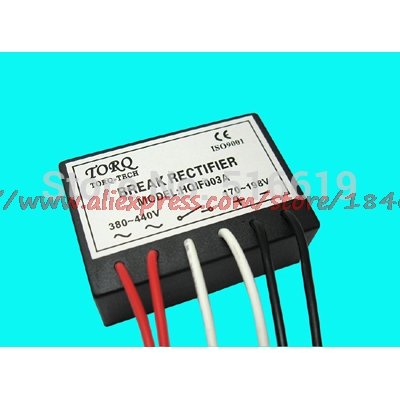 Free Shipping     HQIF003A, (15kw) (AC380V/DC170V) Motor Brake Rectifier  Device