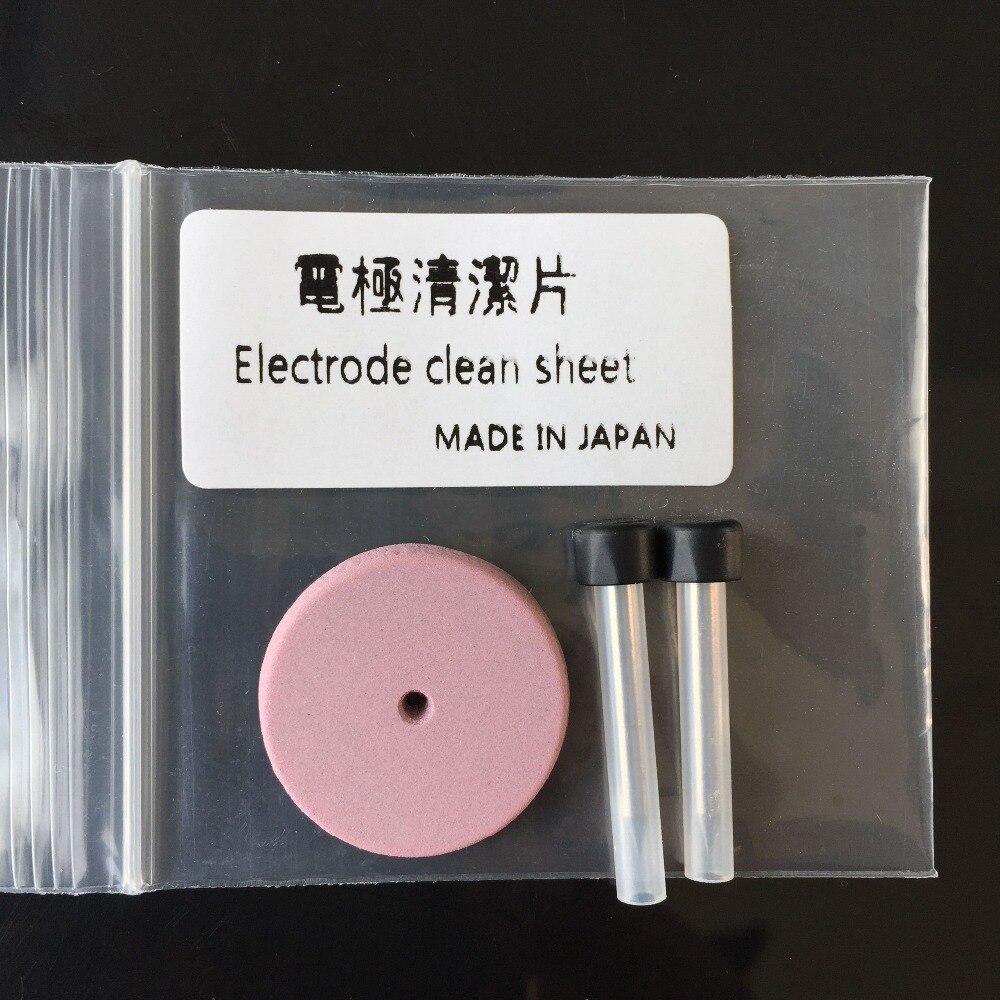 Optical Fiber Fusion Splicer Electrodes clean sheet Electrode polishing Electrode cleaningOptical Fiber Fusion Splicer Electrodes clean sheet Electrode polishing Electrode cleaning