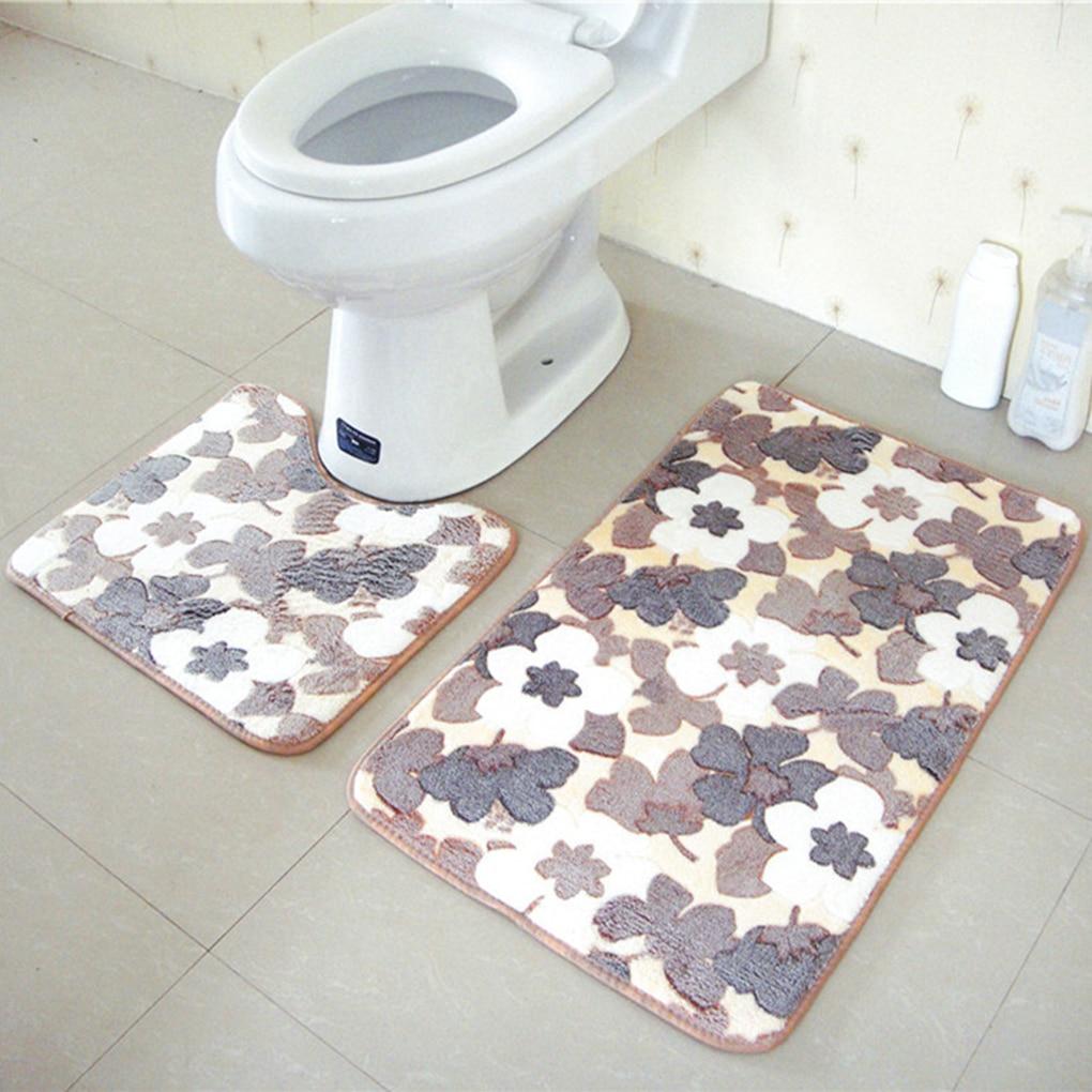compare prices on modern bath rugs online shoppingbuy low price  - pcsset u shape coral fleece bath rug mat set non slip bath carpet set