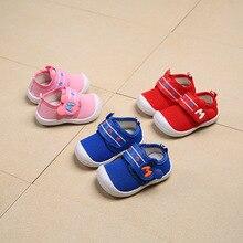 Весенне-Осенняя обувь для маленьких мальчиков и девочек; повседневные кроссовки для младенцев; мягкие удобные Стрейчевые ткани; дышащая детская обувь для первых ходунков