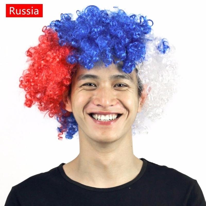Nemzeti Zászló Paróka 2018 Oroszország labdarúgó játék - Jelmezek
