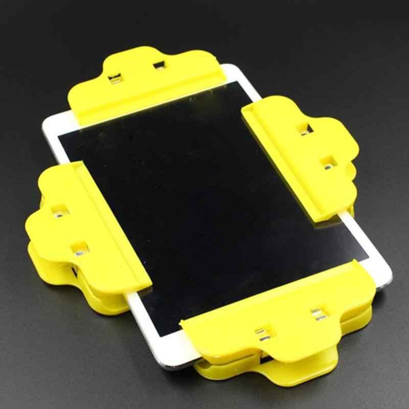 شاشة الهاتف المحمول إصلاح أداة مشبك من البلاستيك تركيبات إبزيم حامل مشابك مناسبة ل نماذج كثيرة ملحقات هواتف الخليوي