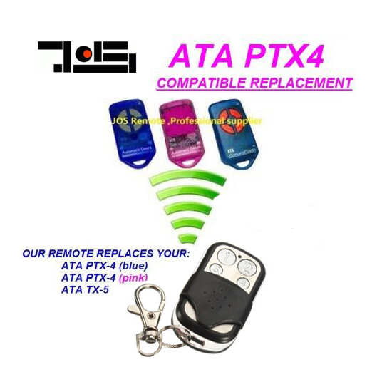 For ATA garage/gate door remote control PTX-4 replacement DHL free shipping ata ptx5 tricode replacement remote 1234button ptx 5 radio contol remote 433 92mhz 434 37mhz 433 37mhz