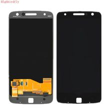 Per moto rola moto Z Droid Xt1650 XT1650 03 Schermo Lcd + Touch Glass Digitizer Assembly di Riparazione Display