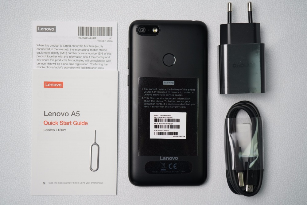 Global Lenovo A5 3G 16G 4G FDD LTE Mobile Phone 3 Card Slot MT6739  Quad-Core Dual SIM 5 45