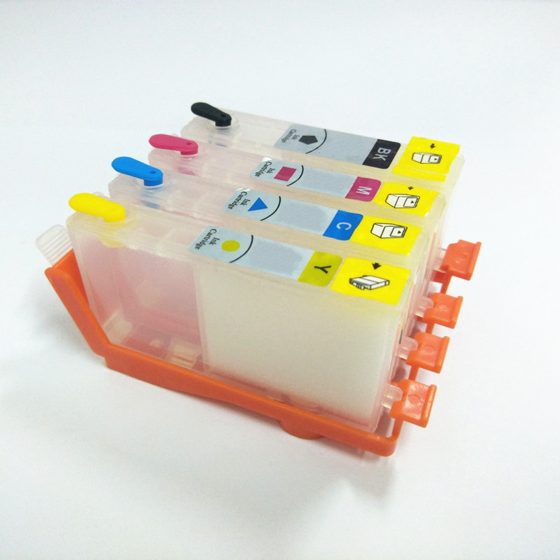 vilaxh 903xl <font><b>Refillable</b></font> Ink Cartridge Replacement For <font><b>903</b></font> 904 905 OfficeJet Pro 6960 6961 6964 6970 6950 Printer Without chip image