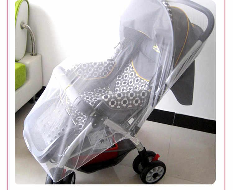 Детская коляска Москитная насекомая защитная сетка безопасные Младенцы защитная сетка аксессуары для коляски корзина москитная сетка