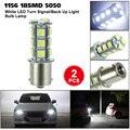 2 упаковки/6 упаковок/10 упаковок/12 упаковок на выбор 1156 18SMD 5050 Белый светодиодный сигнал поворота/лампочка для резерсветильник щения