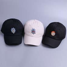 dc86998cf28ec The New US Animation Rick Caps Dad Hat Rick and Morty Hats Adjustable  Casquette High Quality Cotton Cap bone Snapback
