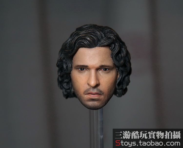 1/6 scale figure doll accessories Game of Thrones jon snow head shape for 12Action figure doll ,not include body and clothes limited edition game of thrones jon snow
