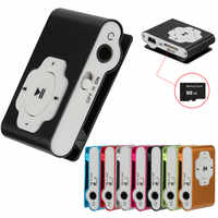 Mini Portable usb HiFi music player MP3 walkman reproductor MP3 Player Support Micro SD TF Card 32GB Sport Music Media