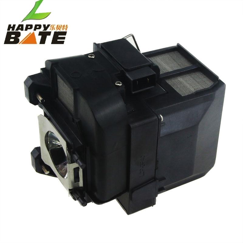 Happybate elplp77 v13h010l77 lâmpada compatível com habitação