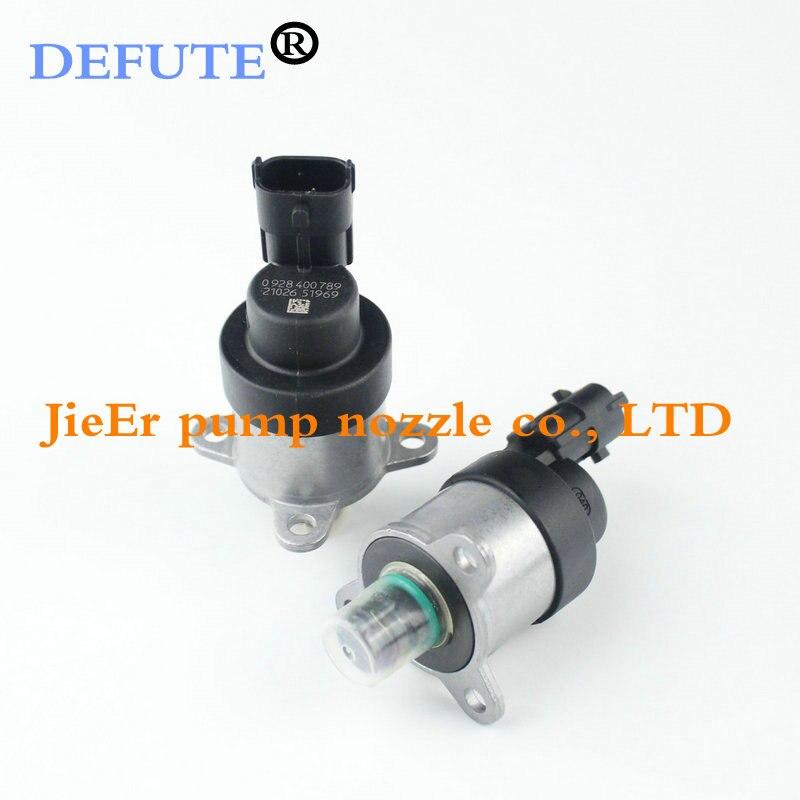 0928400789 0 928, 400 de 789 de alta presión regulador de bomba combustible de solenoide de Control de SCV de IMV unidad para MWM VOLVO VW hombre