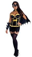 Fiesta de Disfraces Cosplay Uniformes del Juego Tentación Uniforme de Rol Batman Superman Rendimiento Disfraz de Halloween Para Las Mujeres