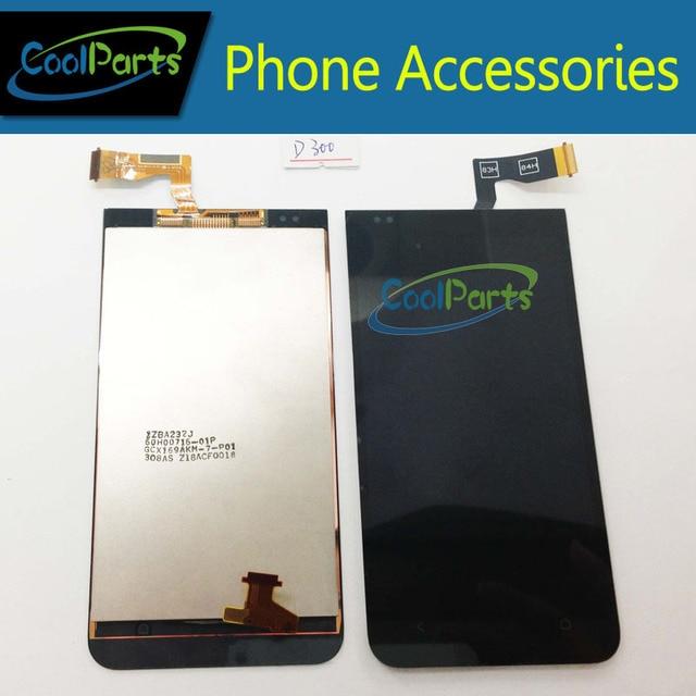 1 шт./лот для HTC Desire 300 ЖК с сенсорным экраном планшета черный цвет бесплатная доставка