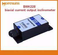 Envío gratis 2 unids/lote BWK228 biaxial corriente salida inclinómetro, Módulo del sensor de ángulo de inclinación/sensor de ángulo
