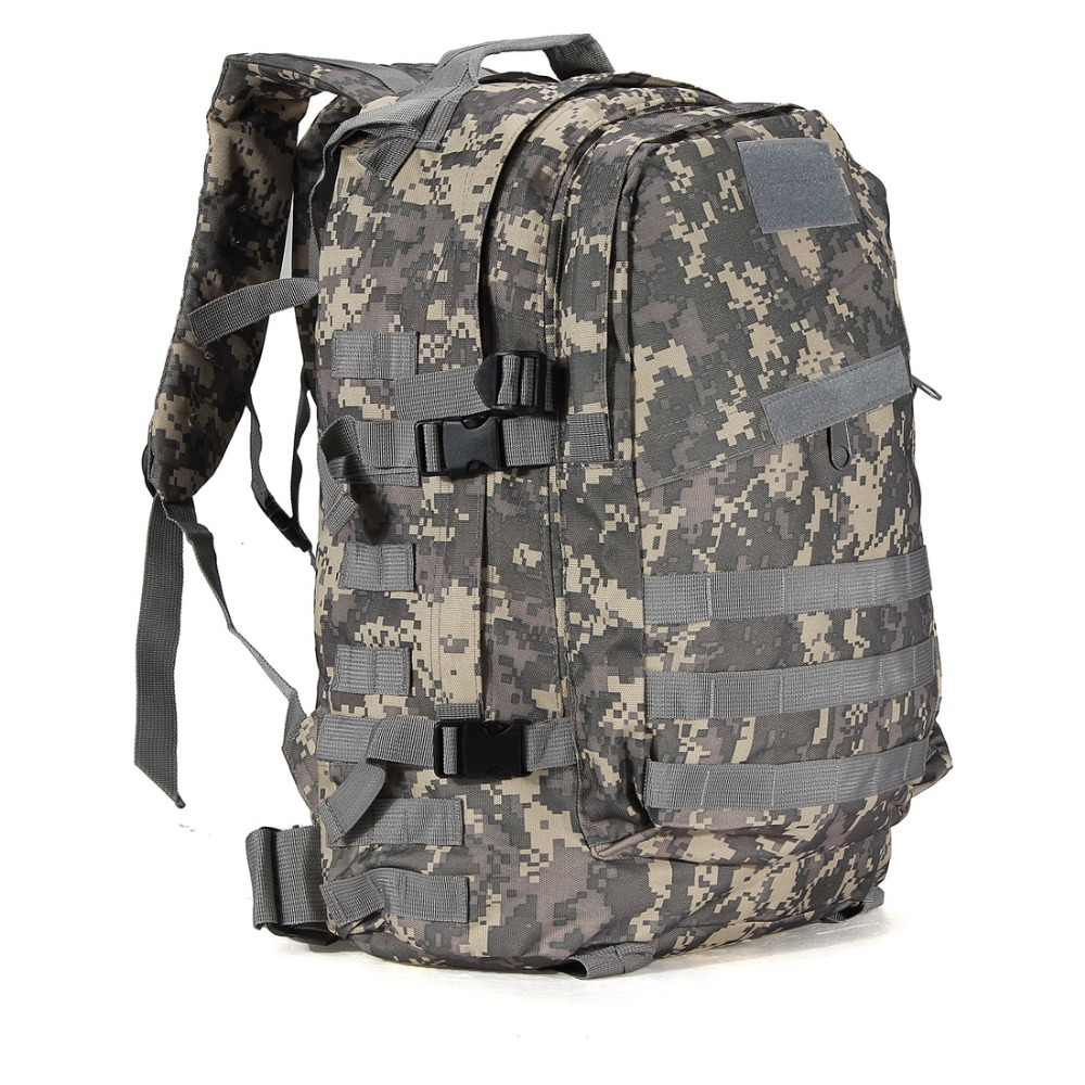 03873704d8aa 55L 3D Outdoor Sport Military Tactical climbing mountaineering Backpack  Camping Hiking Trekking Rucksack Travel outdoor Bag-in Climbing Bags from  Sports ...