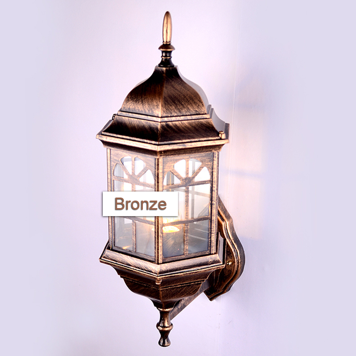 American Europe Luxury Outside Light Lamp Sconce Retro Uk Wall Lantern Waterproof Vintage Clical Outdoor In Lamps From