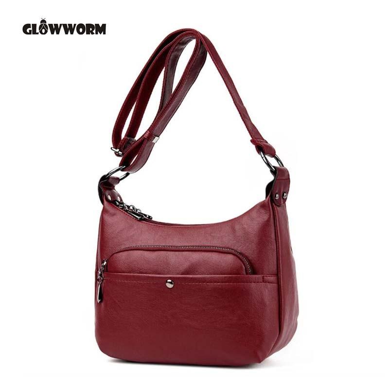 4edaa610c37 Goede Koop Mode vrouwen tas handtas merk Lederen vrouwen messenger tassen  ontwerper vrouwen lederen handtassen Crossbody Goedkoop