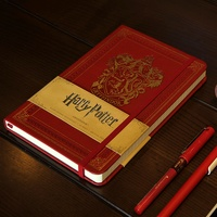 High quality Harry Potter notebook movie related pocketbook Gryffindor Hogwarts jotter Hardcover Notebooks present Souvenir