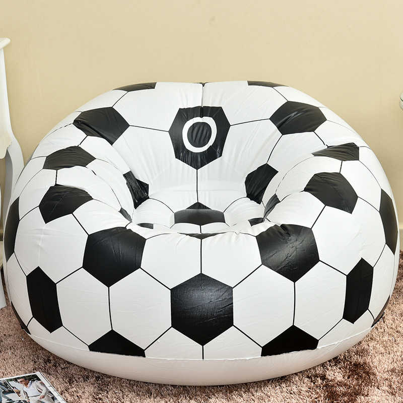 Remarkable 2018 Fashion Fast Football Air Sofa Inflatable Lazy Bean Bag Folding Portable Chair For Kids Adults Harmless To Healthy Ocoug Best Dining Table And Chair Ideas Images Ocougorg