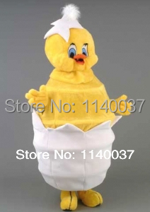 mascot Chick mascot costume custom size costume cosplay Cartoon Character carnival costu ...