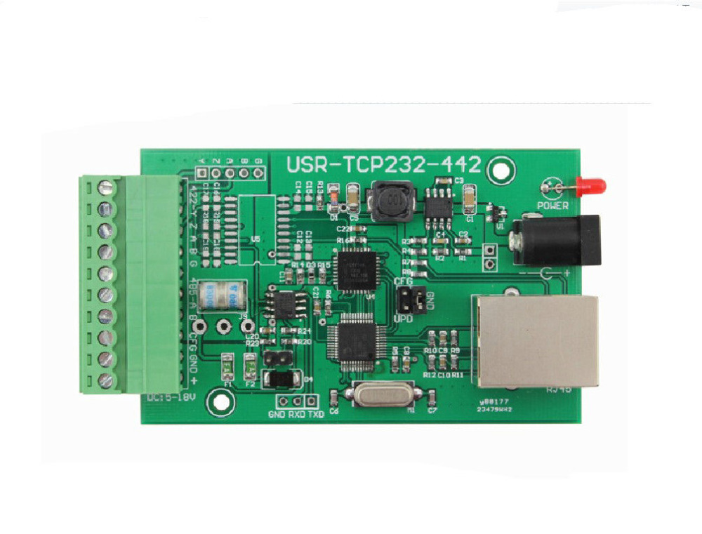 RS485/RS422 to Ethernet Module/Independent RS485 Isolation&Protection Chip конвертер aten ic485sn rs232c to rs485 rs422