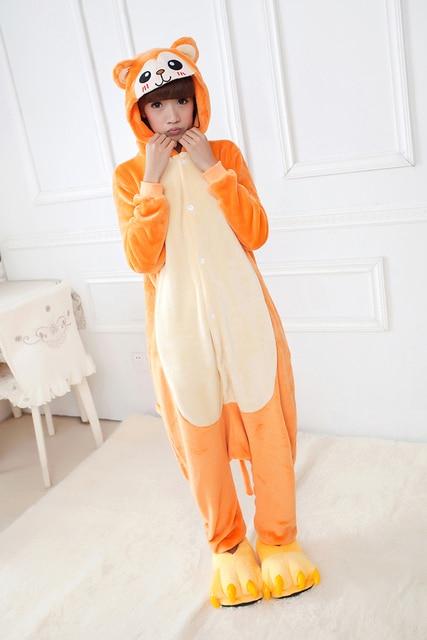 c0539d2b5 Unisex Golden Monkey Pajamas Costume Cosplay Animal Kigurum Onesies ...