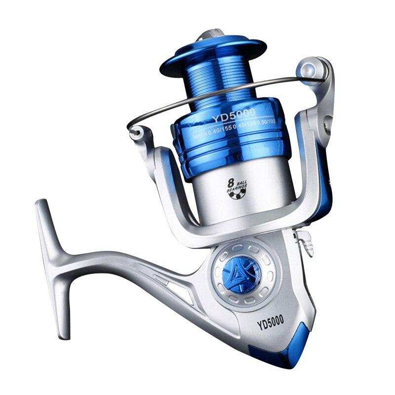 Angeln Reel Spinning-12 + 1BB Ultraleicht Glatte Leistungsstarke Spinning Reels für Süßwasser Salzwasser Bass Angeln