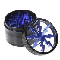 100% Orijinal Herb Değirmenleri 63mm Alüminyum Alaşım Net Üst Pencere Aydınlatma Değirmenleri Taşlama 4 parça VS Sharpstone Değirmenleri
