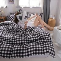 HSMLTKC Bedding Set Bed Sheet Ropa De Cama Edredones Y Conjuntos De Ropa De Cama King Size Bedding Set Nevresim Takimlari