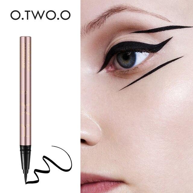 O.TWO.O Eye Makeup Liquid Eyeliner Eye Make Up Super Waterproof Long Lasting Eye Liner Easy to Wear Natural Cosmetic 1