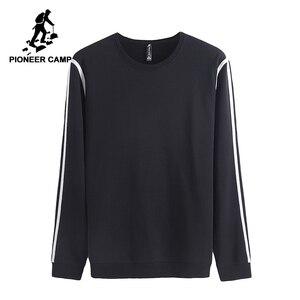 Image 2 - Pioneer Camp เสื้อผู้ชายที่มีชื่อเสียงยี่ห้อเสื้อผ้าแฟชั่น hoodies ชายคุณภาพสูงสบายๆ tracksuit ฤดูใบไม้ผลิฤดูใบไม้ร่วง AWY702315