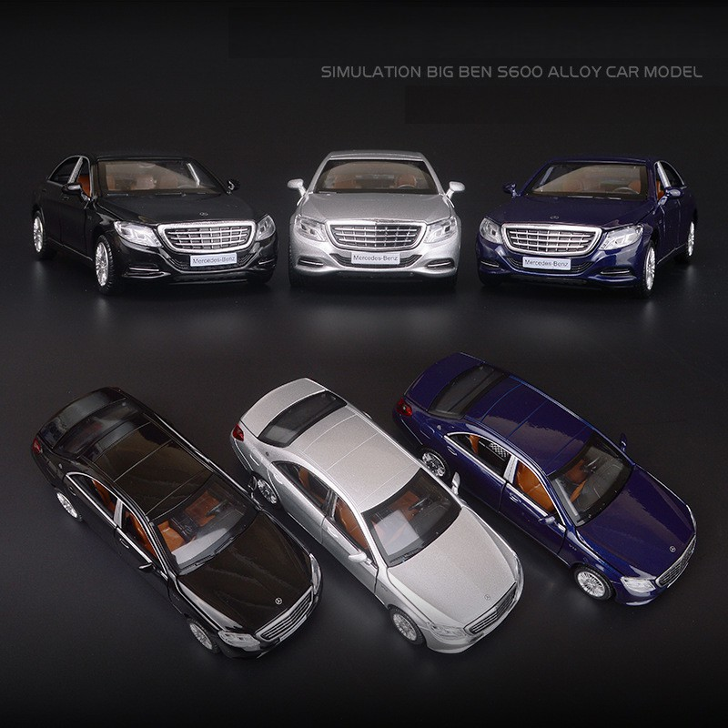 Maybach S600 Model Toy Car with Lights 12