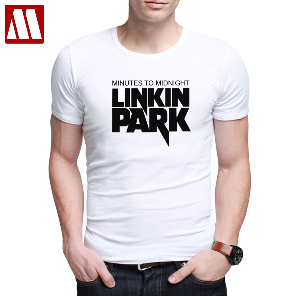 US $6 88 40% OFF|2019 New Summer Style Mens T Shirts Linkin Park Chester  Bennington Printed Costume For Man Fashion Casual Short Sleeve tshirts-in