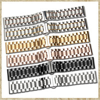 Manufacturer Spot General Strap Stainless Steel Strap Watch Band 14 16 17 18 19 21 22 23 24 Mm