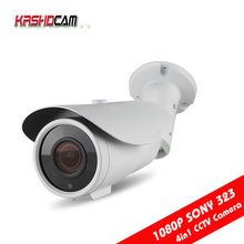 CCTV AHD camera 2.0MP AHD-H 1080P Varifocal bullet  BNC HD analog outdoor waterproof IP66 Security 2.8-12mm Zoom Night Vision