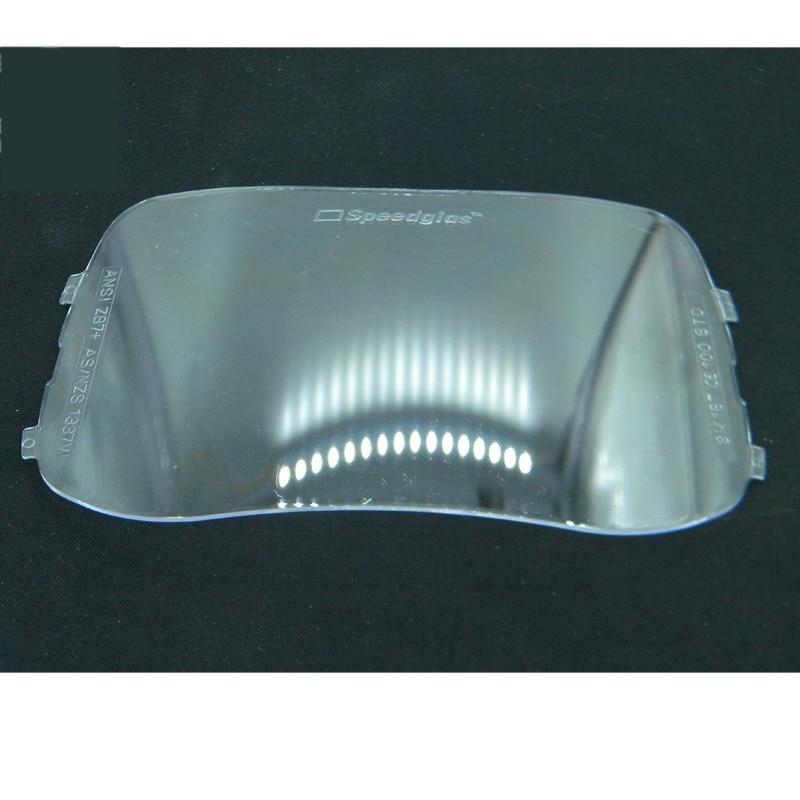 Welding Lens Protective  Plate Helmet 2pcs/lot Orginal Speedglas 100V 3M STD Plastic Plates  Mask Anti Sparkle Splash Protector