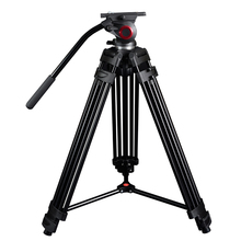 Professional Portable Video Tripod with Hydraulic Head Digital DSLR Camera Stand tripod better than manfrotto