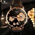 YAZOLE Кварцевые часы дизайн Женщины Кварцевые Часы Люксовый Бренд Наручные Часы Цветок Женские Часы Наручные Часы Дамы relojes mujer A