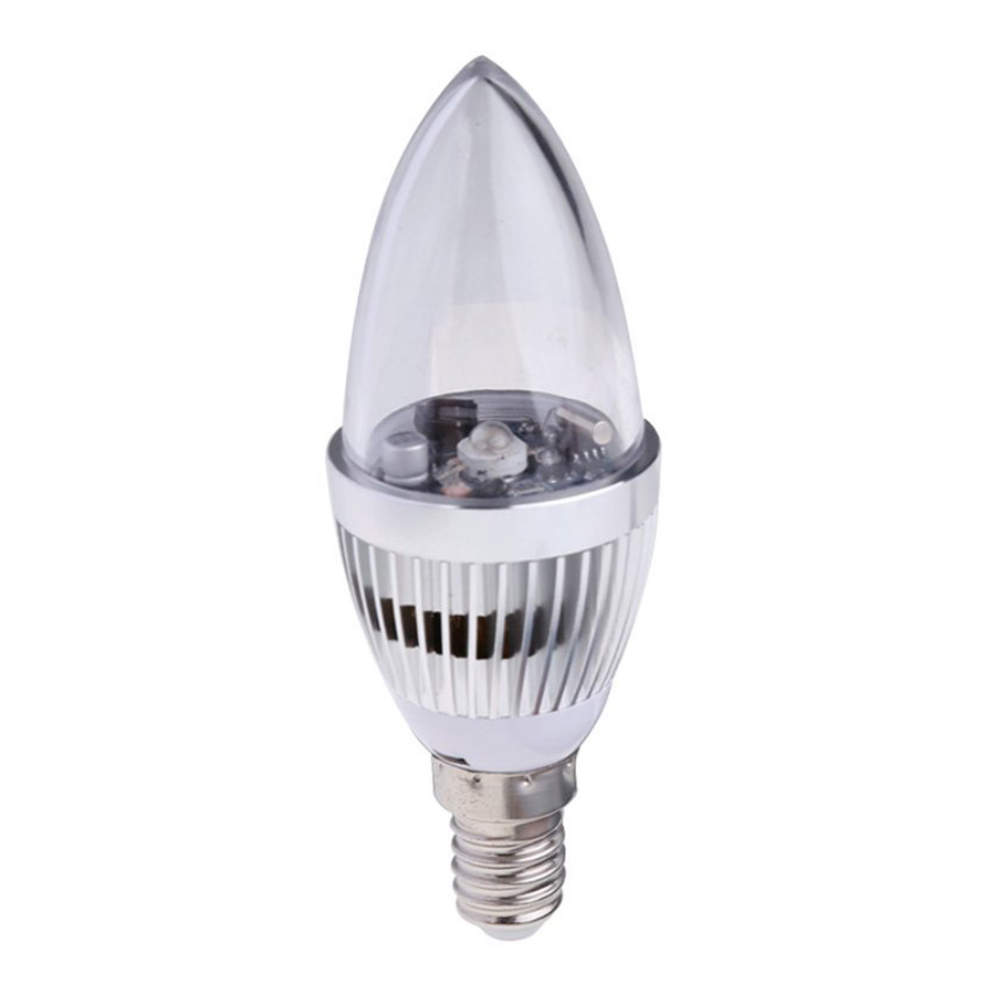 3 W RGB Remote Controlled, 16 Color Change LED Light Bulb Light Bulb Candle Lamp AC 85-265 V (E 14)