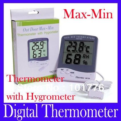 Luftfeuchtigkeit meter elektronische hygrometer digital hydrometer ...