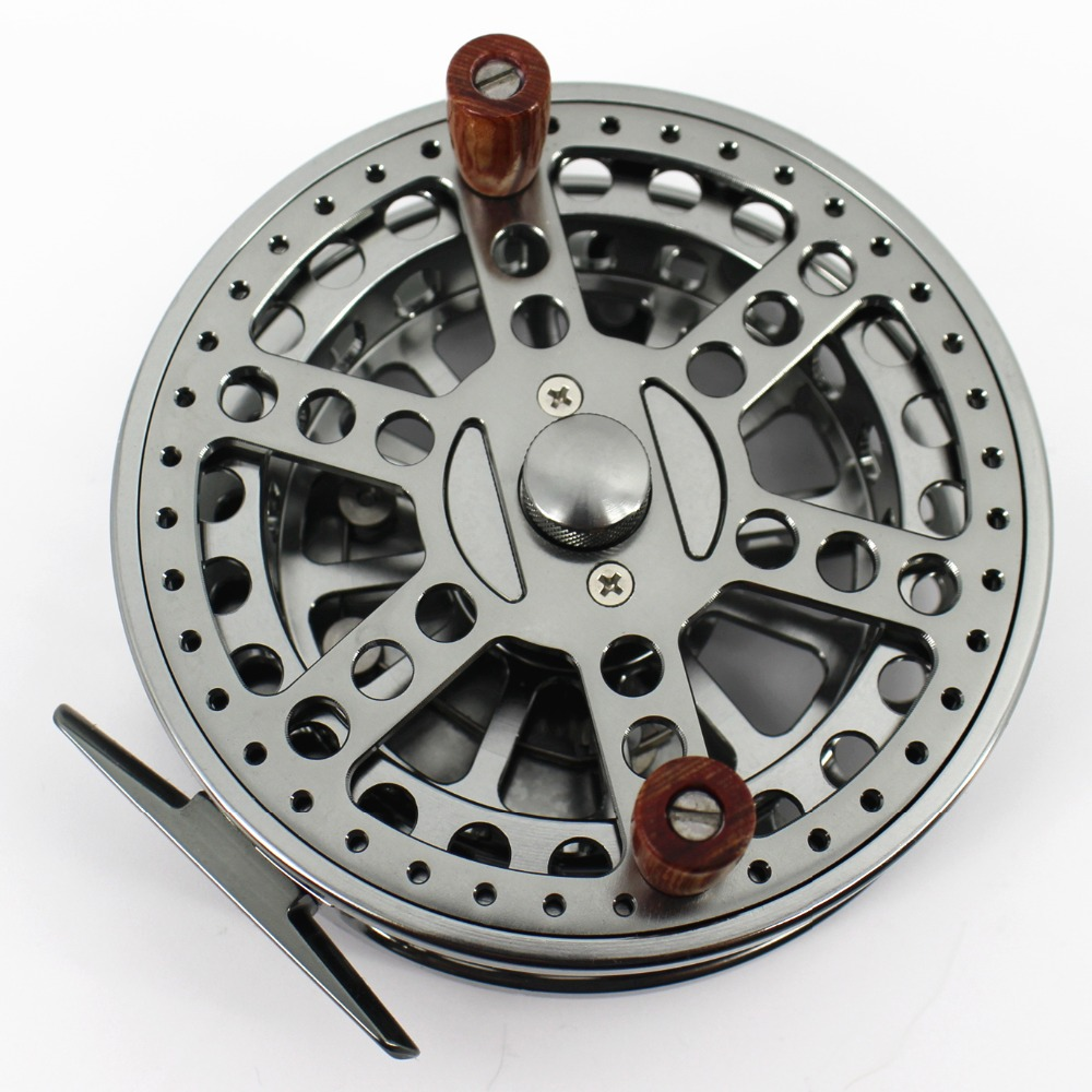 "4 1//2/""  CENTER PIN CENTREPIN FLOAT REEL 113.5MM CLASSIC FISHING REEL"