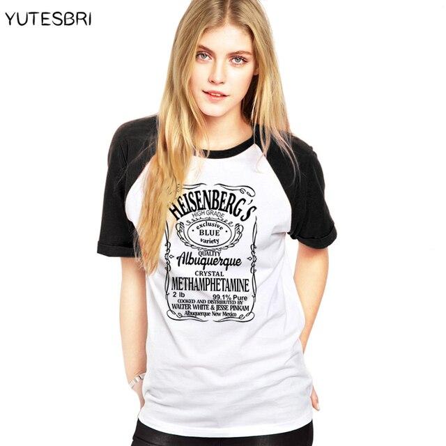 Breaking Camisetas Bad Mujeres Blanco Walter Ropa Yutesbri tQChdxsr