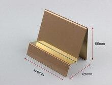 Wallet Display Rack Handbag Display Stand Stainless Steel Metal Monolayer Bag Display Holder Rack furniture accessories