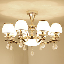 European  Luxury Living Room Chandelier Modern Creative Bedroom Restaurant Hotel Crystal Lamps